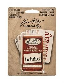 TIM HOLTZ® IDEA-OLOGY™ - Flashcards Christmastime – TH93257